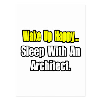 Sleep With an Architect Postcard
