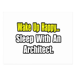 Sleep With an Architect Postcard