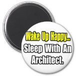 Sleep With an Architect Refrigerator Magnet