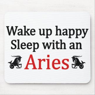 Sleep With An Aries Mouse Pad