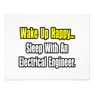 Sleep With An Electrical Engineer Custom Invites
