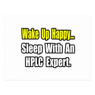 Sleep WIth an HPLC Expert Post Card