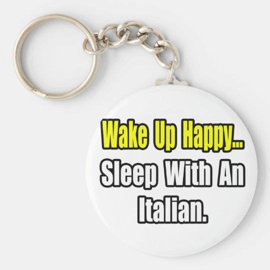 Sleep With an Italian Keychain