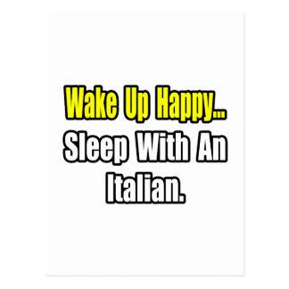 Sleep With an Italian Postcards