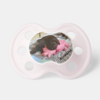 Sleep with measure Piggy Pacifier