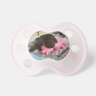 Sleep with measure Piggy Pacifier