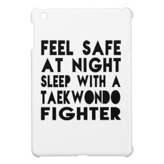 Sleep With Taekwondo Fighter Funny Designs iPad Mini Cover
