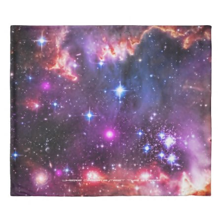 Sleep with the stars duvet cover