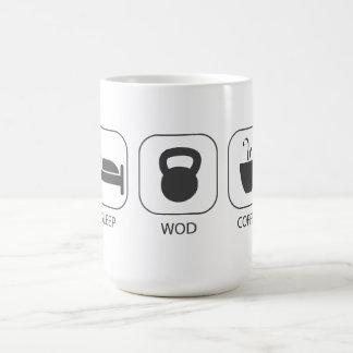 Sleep WOD Coffee - Workout And Weight Lifting Mugs
