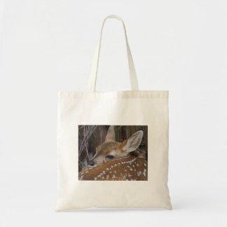 Sleepin' Fawn Tote Bag