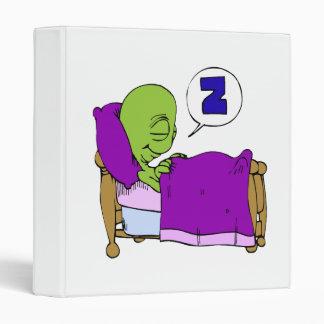 Sleeping Alien Binder