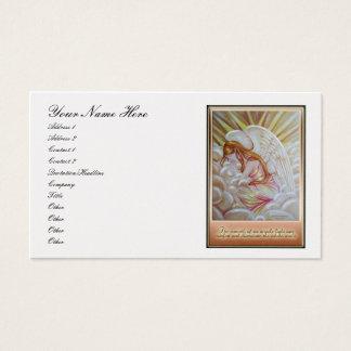 Sleeping Angel Business Card