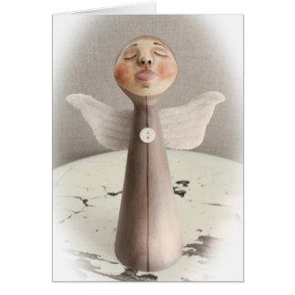 Sleeping Angel Christmas Card