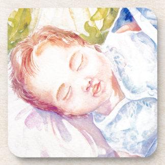 Sleeping Angel Coaster