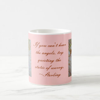 Sleeping Angel Classic White Coffee Mug