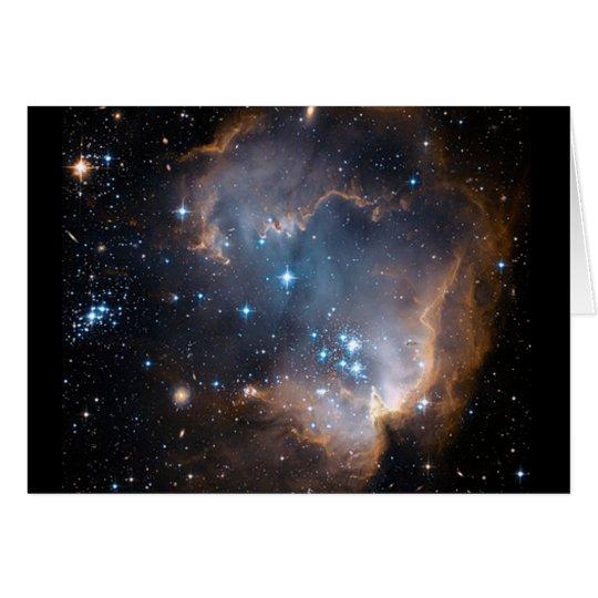 Sleeping Angel Star Cluster Card