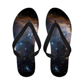 Sleeping Angel Star Cluster Flip-Flops