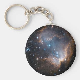 Sleeping Angel Star Cluster Key Chain