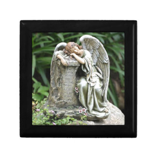 Sleeping Angel Trinket Boxes