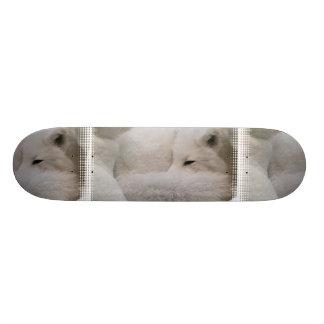 Sleeping Arctic Fox Skateboard