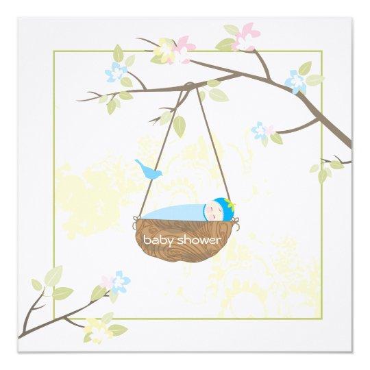 Sleeping Baby - Baby Shower Invitation