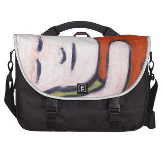Sleeping Baby Buddha ( Buddhism pop art ) Commuter Bags