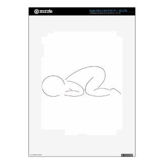 Sleeping Baby iPad 3 Decal