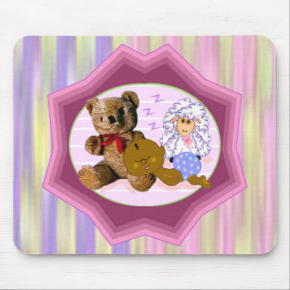 Sleeping Baby Mouse Pad
