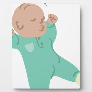 Sleeping Baby Plaque