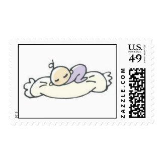 Sleeping Baby Postage