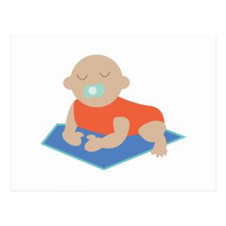 Sleeping Baby Postcard