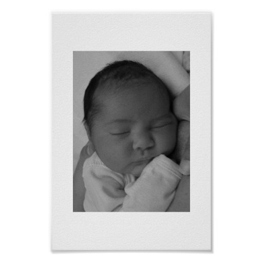 Sleeping Baby Print