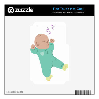 Sleeping Baby iPod Touch 4G Skin