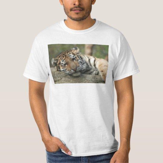Sleeping Baby Tiger T-Shirt