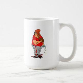 Sleeping Baseball Player Coffee Mug