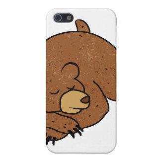 sleeping bear cartoon case for iPhone SE/5/5s