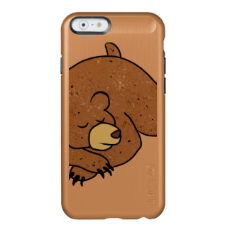 sleeping bear cartoon incipio feather shine iPhone 6 case
