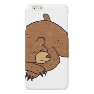 sleeping bear cartoon matte iPhone 6 case