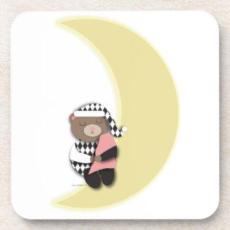 Sleeping Bear Cork Coaster