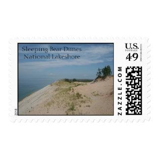 Sleeping Bear Dunes National Lakeshore Stamp