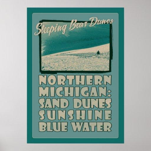Sleeping Bear Dunes Northern Michigan Poster