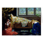 Sleeping Beauty and the Maidens Greeting Cards
