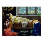 Sleeping Beauty and the Maidens Post Card