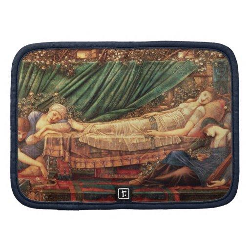 Sleeping Beauty Asleep in Her Bower Folio Planner