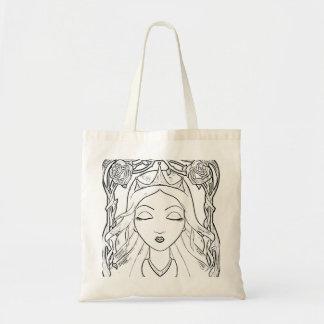 Sleeping Beauty Canvas Bag