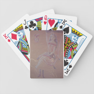 Sleeping Beauty Bicycle Playing Cards
