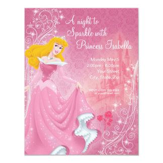 Sleeping Beauty Birthday Invitation
