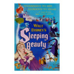 Sleeping Beauty Blue Poster