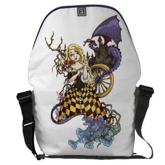 Sleeping Beauty Courier Bag