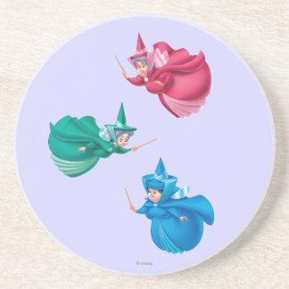 Sleeping Beauty Fairies Coasters